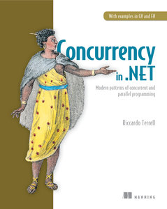 Concurrency in .NET: Modern patterns of concurrent and parallel programming (Paperback)-cover