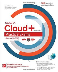 CompTIA Cloud+ Certification Practice Exams (Exam CV0-002)-cover