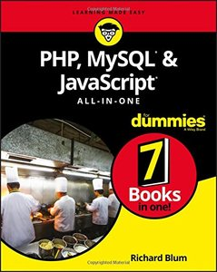 PHP, MySQL, & JavaScript All-in-One For Dummies (For Dummies (Computer/tech))-cover