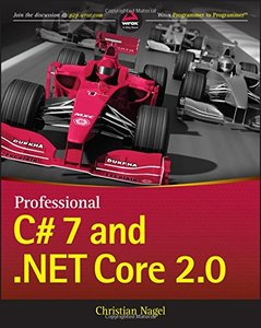Professional C# 7 and .NET Core 2.0-cover
