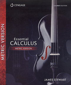 Essential Calculus Metric Version (Custom Solutions) (Paperback)-cover