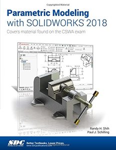 Parametric Modeling with SOLIDWORKS 2018-cover