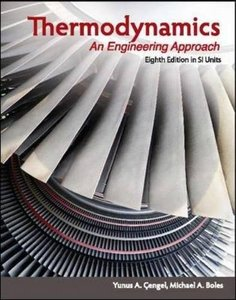 Thermodynamics: An Engineering Approach, 8/e (SI Units)( Asia Adaptation)-cover