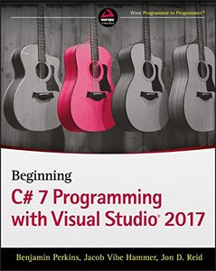Beginning C# 7 Programming with Visual Studio 2017-cover
