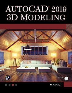AutoCAD 2019 3D Modeling-cover