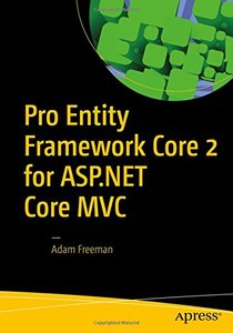 Pro Entity Framework Core 2 for ASP.NET Core MVC-cover