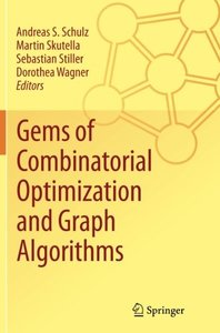 Gems of Combinatorial Optimization and Graph Algorithms-cover
