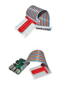 樹莓派專用配件T型GPIO擴展板 T-Cobbler Plus + 400孔麵包板-cover