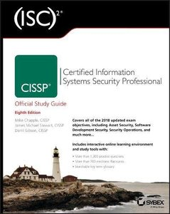 (ISC)2 CISSP Certified Information Systems Security Professional Official Study Guide, 8/e (Paperback)-cover