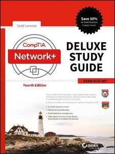CompTIA Network+ Deluxe Study Guide: Exam N10-007-cover