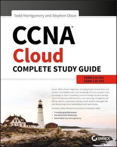 CCNA Cloud Complete Study Guide: Exam 210-451 and Exam 210-455-cover