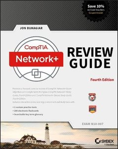 CompTIA Network+ Review Guide: Exam N10-007-cover