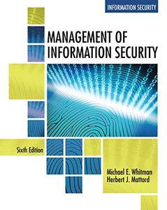 Management of Information Security (MindTap Course List)-cover