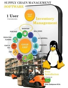 Supply Chain Management Software: Odoo - Inventory Management (Volume 1)-cover