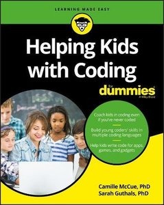 Helping Kids with Coding For Dummies-cover