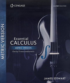 Essential Calculus: Early Transcendental , Metric Version (Custom Solutions) (Paperback)-cover