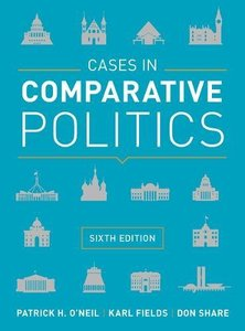 Cases in Comparative Politics, 6/e (Paperback)