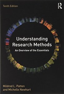 Understanding Research Methods: An Overview of the Essentials, 10/e (Paperback)-cover