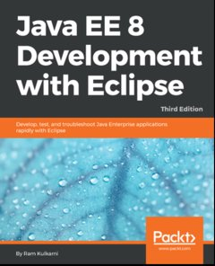 Java EE 8 Development with Eclipse, 3/e (Paperback)-cover