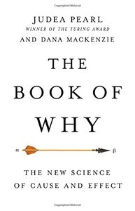 The Book of Why: The New Science of Cause and Effect (Hardcover)-cover