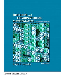 Discrete and Combinatorial Mathematics (Classic Version) (5th Edition) (Pearson Modern Classics for Advanced Mathematics Series)-cover