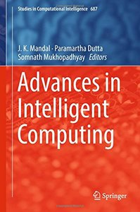 Advances in Intelligent Computing (Studies in Computational Intelligence)-cover