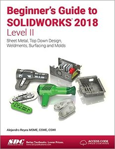 Beginner's Guide to SOLIDWORKS 2018 - Level II-cover
