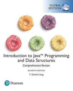 Introduction to Java Programming and Data Structures , Comprehensive Version, 11/e (GE-Paperback)-cover