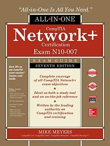 CompTIA Network+ Certification All-in-One Exam Guide, Seventh Edition (Exam N10-007) (Comptia Network + All-in-one Exam Guide)-cover