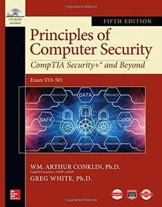 Principles of Computer Security: CompTIA Security+ and Beyond, Fifth Edition-cover
