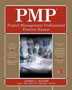 PMP Project Management Professional Practice Exams-cover