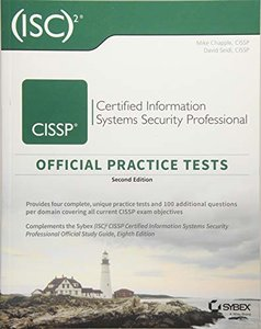 CISSP Official (ISC)2 Practice Tests-cover