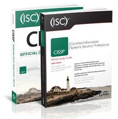 (ISC)2 CISSP Certified Information Systems Security Professional Official Study Guide, 8th Edition and Official Practice Tests Kit-cover
