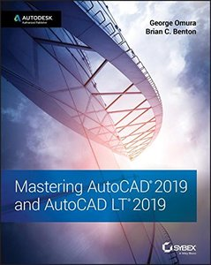 Mastering AutoCAD 2019 and AutoCAD LT 2019-cover