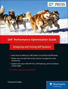 SAP Performance Optimization Guide (8th Edition) (SAP PRESS)-cover