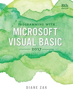 Programming with Microsoft Visual Basic 2017 (Paperback)-cover
