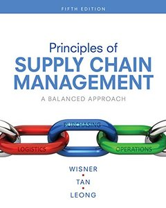 Principles of Supply Chain Management: A Balanced Approach, 5/e (Hardcover)-cover