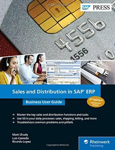 Sales and Distribution (SAP SD) in SAP ERP: Business User Guide (3rd Edition) (SAP PRESS)-cover
