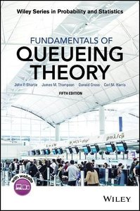 Fundamentals of Queueing Theory, 5/e (Hardcover) -cover
