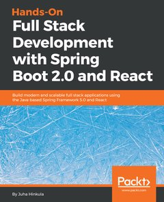 Hands-On Full Stack Development with Spring Boot 2.0 and React-cover