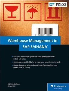 SAP Warehouse Management in SAP S/4HANA: Embedded EWM (SAP PRESS)-cover
