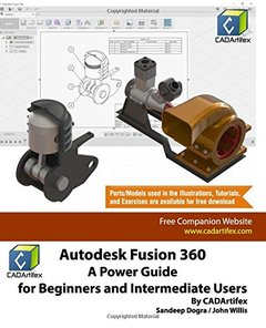 Autodesk Fusion 360: A Power Guide for Beginners and Intermediate Users-cover