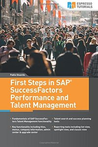 First Steps in SAP SuccessFactors - Performance and Talent Management-cover
