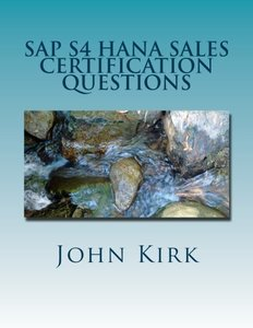 SAP S4 HANA Sales Certification Questions-cover