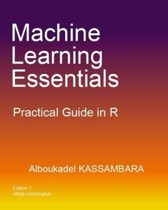 Machine Learning Essentials: Practical Guide in R-cover