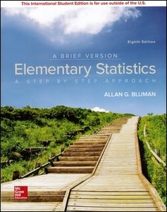 Elementary Statistics : A Brief Version, 8/e (Paperback)-cover