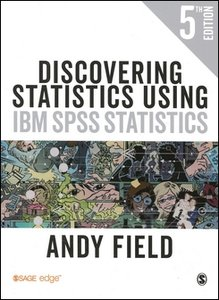 Discovering Statistics Using IBM SPSS Statistics, 5/e (Paperback)-cover