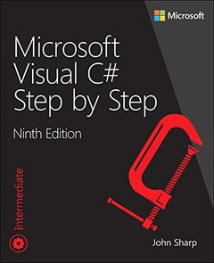 Microsoft Visual C# Step by Step (9th Edition) (Developer Reference)-cover