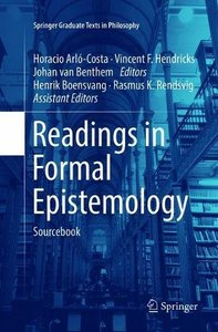Readings in Formal Epistemology: Sourcebook (Springer Graduate Texts in Philosophy)-cover