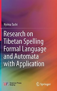 Research on Tibetan Spelling Formal Language and Automata with Application-cover